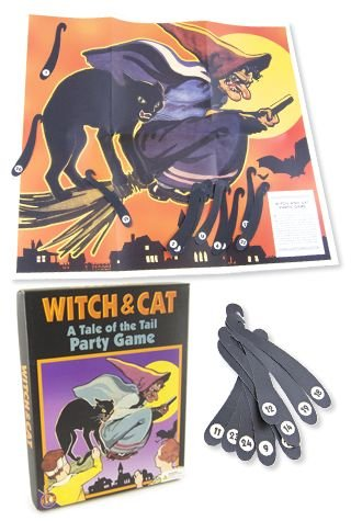 Witch and Cat Party Game