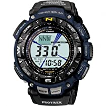 Casio PRG-240B-2ER Mens Pro-Trek Solar Powered Sports Watch