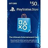 $50 PlayStation Store Gift Card - PS3/ PS4/ PS Vita [Digital Code] ~ SCEA