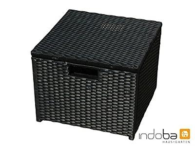 indoba® IND-70078-HO - Serie Faro - Gartenhocker aus Polyrattan von indoba - Gartenmöbel von Du und Dein Garten