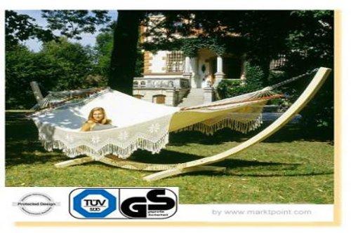 Luxus Stabhängematte Palacio-Gestell massiv Arcus online bestellen