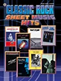 Alfred Publishing Staff Classic Rock Sheet Music Hits: Piano/Vocal/Chords