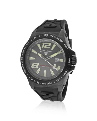 Swiss Legend Men's SL-10043-BB-014 Sprint Racer Black/Gray Watch