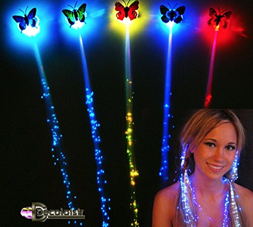 TRESSE CHEVEUX LED lot de 3