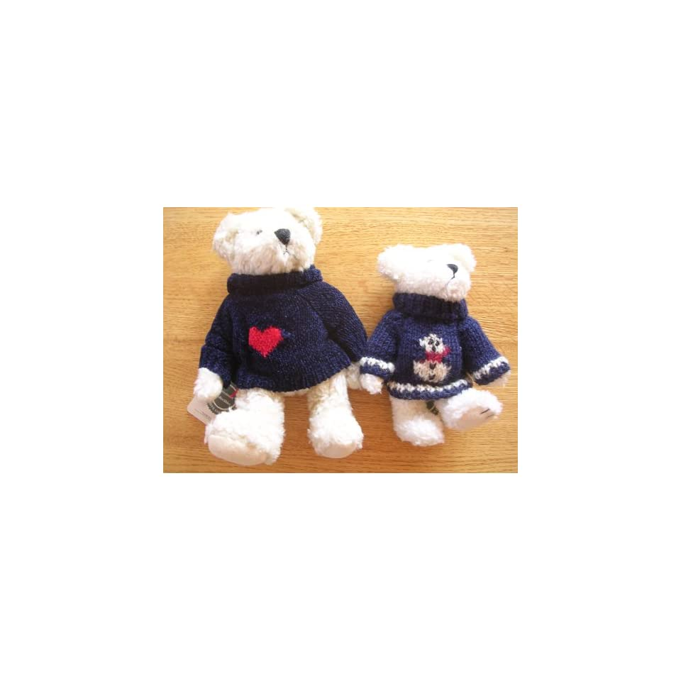 Boyds Bears & Friends Collectibles Toy ; Freezy T. Frostman & Samuel Adams Set of 2 from The Archive Collection