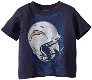 NFL San Diego Chargers Toddler Protection S/S Tee (Navy, 4)