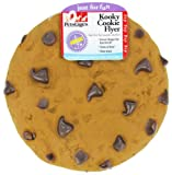 Petstages Kooky Chocolate Chip Flyer Beige and Brown Dog Just for Fun Toy