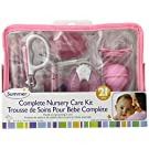 Summer Infant Complete Nursery Care Kit, Pink/White