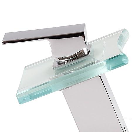 Robinet de salle de bain cascade avec led multi couleurs - Faience salle de bain castorama ...