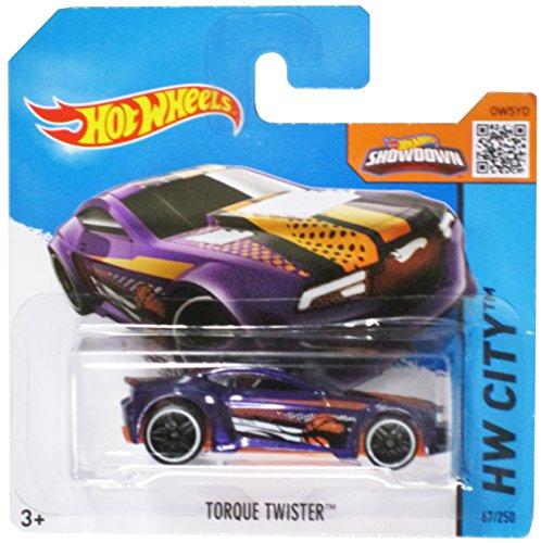 Hot Wheels Hw City Purple Torque Twister on Short Card - 67/250 - 1