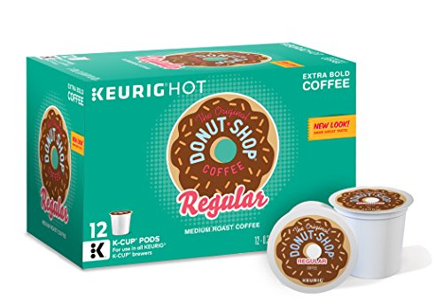 The Original Donut Shop, Regular, Medium Extra Bold, Keurig K-Cups, 72 Count (Keurig Coffee Regular compare prices)