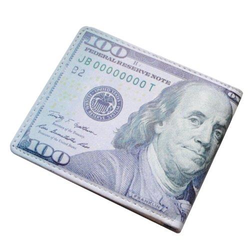 財布 二つ折り $100 ベンジャミンウォレット