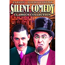 Silent Comedy Classics Collection (The Fraidy Cat / Half Back Hannah / Back to the Woods / The Speed Kings / Out of Control)