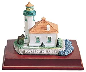 Lighthouse Alki Point Wa Collectible Statue