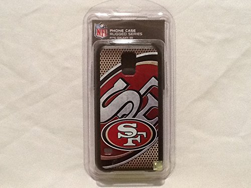 San Francisco 49ers Rugged Case for Samsung Galaxy S 5 Cell Phones- Retail Packaging - Black/Scarlet/Gold/White by National Cellular