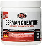 German Creatine (Pure Creatine Monohydrate) -- 60 Servings