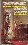 Regarding Sherlock Holmes: #1/The Adventures of Solar Pons (052300477X) by August Derleth