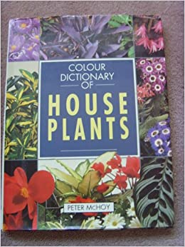 Colour dictionary of house plants peter mchoy 9781854357243 books - Plants for every room in your home extra comfort and health ...