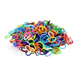 1800 Colourful Loom Bands & 75 Clips!