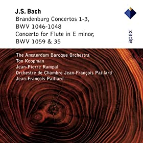 Bach, JS : Brandenburg Concerto No.1 in F major BWV1046 : III Allegro