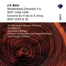 Bach, JS / Arr Radeke : Flute Concerto in E minor BWV1059 & 1035 : I Allegro