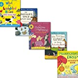 Julia Donaldson Julia Donaldson 5 Activity Books Collection Set, (Tyrannosaurus Drip The Smartest Giant in Town The Gruffalo's Child, What the Ladybird Heard The Princess and the Wizard)