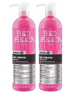 TIGI Bed Head Epic Volume Shampoo & Conditioner 25.36 oz DUO