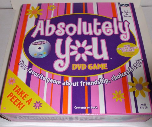 Absolutely You, Dvd Game, Your Favorite Game About Friendship, Choices & Style
