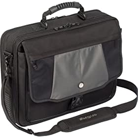 Targus Blacktop Deluxe 17 Laptop Case w/ Dome Protection CPT401DUS