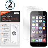 BoxWave iPhone 6 ClearTouch Anti-Glare Screen Protector (2-Pack) - Premium Quality iPhone 6 Anti-Glare, Anti-Fingerprint Matte Film Skin to Shield Against Scratches (Includes Lint Free Cleaning Cloth and Applicator Card)