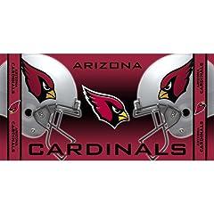 Buy NFL McArthur Arizona Cardinals 30'' x 60'' Cardinal Beach Towel by McArthur Towel and Sports
