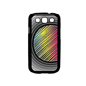 Vibhar printed case back cover for Samsung Galaxy S3 RainbowlinePattern