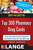 img - for 2014-2015 Top 300 Pharmacy Drug Cards (Lange) book / textbook / text book
