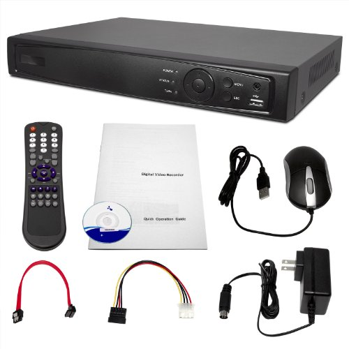 R-Tech 8 Channel H.264 1TB HDD Standalone DVR with 1080p HD Video Playback - LDV-08HV images