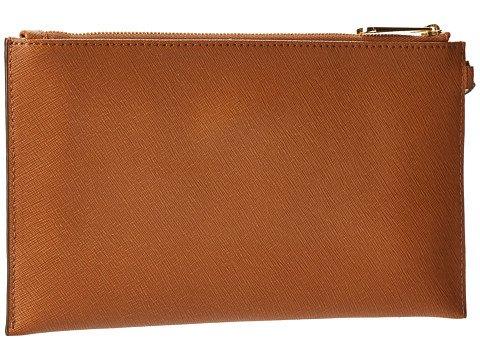 Michael Kors Tech Continental Zip Around Leather Wallet - Dark Slate