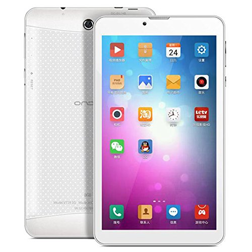 Onda V719 3G 6.95インチ タブレット CPU:Marvell 1920 Quad Core 2.4GHz RAM:1GB DDR3 ROM:8GB NAND Android4.3 デュアルカメラ SIMフリー◇V719