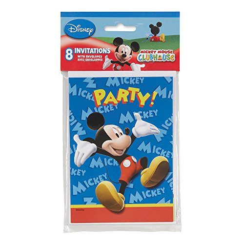 Mickey Mouse Clubhouse Invitations-8 count