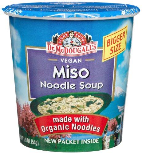 Dr Mcdougalls Right Foods Vegan Miso Ramen 1 9 Ounce