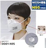 N9Sマスク(10枚入り)<安心の日本製>花粉症・大気汚染・PM25対策に最適 DD01-N95-1(074)