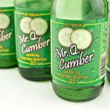 Mr. Q Cucumber Soda -  7.0 OZ Soda