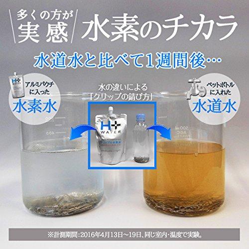 高濃度水素水 南ASOの水素水 シリカ55㎎/l H+WATER ナノバブル製法 (330ml×30本セット)《H+30 》