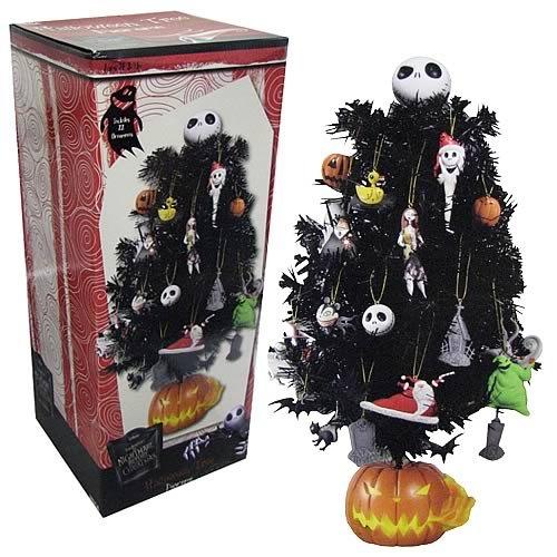 Tim Burton's The Nightmare Before Christmas 18'' Halloween Tree Set /w Bobblehead Ornaments