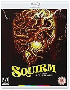 La Nuit des vers geants / Squirm (Blu-Ray & DVD Combo) [ Origine UK, Sans Langue Francaise ] (Blu-Ray)