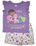 Doc McStuffins Little Girls Shirt & Shorts Clothing Set