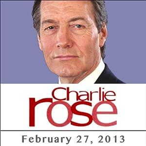 Charlie Rose: Carmelo Anthony, February 27, 2013 Radio/TV Program