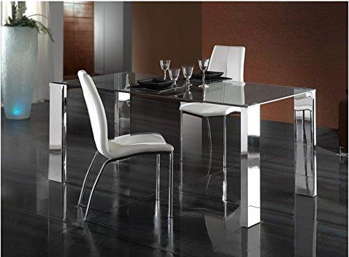 Table salle à manger · Mali · acier 180x 90cm