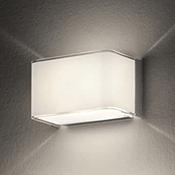 Wall Sconces On Clearance : Block Wall Sconce White - Clearance Display Item - - Amazon.com