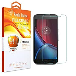 Parallel Universe UNBREAKABLE FLEXIBLE Tempered Glass Screen Protector for Moto E3 Power (3rd generation)