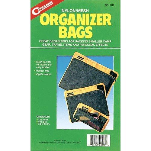 Coghlan's 118 3-Count Nylon Mesh Organizer Bags