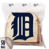 Spectrum 5815-10011 MLB Plastic Detroit Tigers Sandwich Press to Close Bag (Pack of 50) at Amazon.com